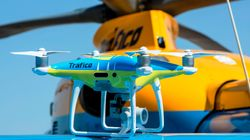 Los drones de la DGT empiezan a multar desde el 1 de