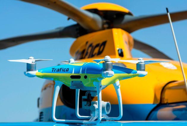 Uno de los drones que empezarán a usarse para vigilar las