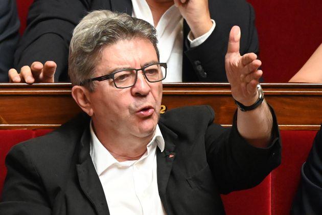 Jean-Luc Mélenchon à l'Assemblée nationale le 25 juin