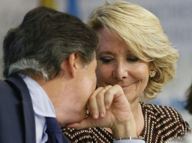 Esperanza Aguirre e Ignacio González, en una una imagen de