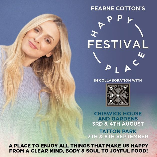 Fearne Cotton's Happy Place Festival Ticket Competition