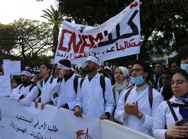 Les étudiants en médecine ne lâchent