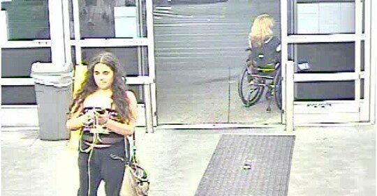 A woman wanted for allegedly peeing on potatoes inside of a Pennsylvania Walmart has turned herself in to police.