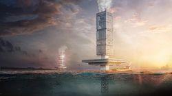 Un gratte-ciel flottant conçu pour nettoyer nos