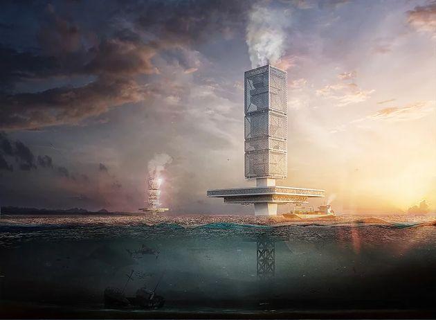 FILTRATION utiliserait l'eau de mer pour pomper les déchets et l'eau polluée...