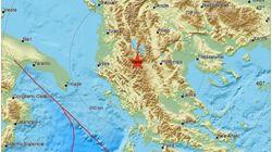 Δυνατός σεισμός 4,4 ρίχτερ κοντά στην