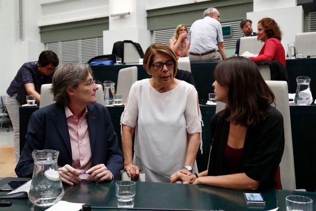 Inés Sabanés, entre Rita Maestre y Marta