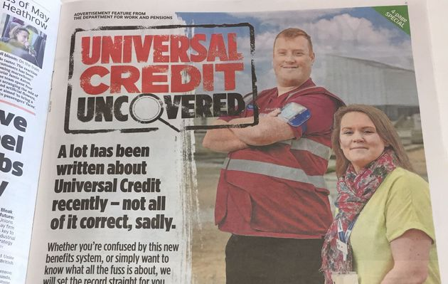 DWP Spent £225K On Newspaper Ads Selling Benefits Of Universal Credit