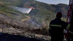 Νέο πύρινο μπαράζ: 24 δασικές φωτιές σε όλη τη