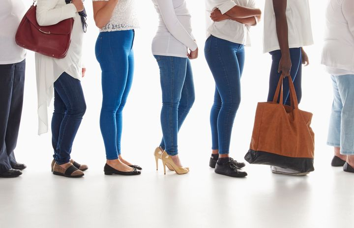Waiting in a long line is just one barrier women face when looking for a public restroom.
