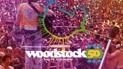Le festival géant des 50 ans de Woodstock est