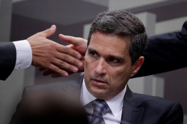 Presidente do Banco Central, Roberto Campos Neto, em audiência na ComissãodeAssuntos...