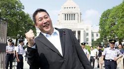 NHKから国民を守る党、立花孝志代表「ぶっ壊す」とポーズ。「既成政党を裏切ってうちに来て」