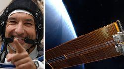 AstroLuca osserva incantato l'avanzare della notte sulla Terra: