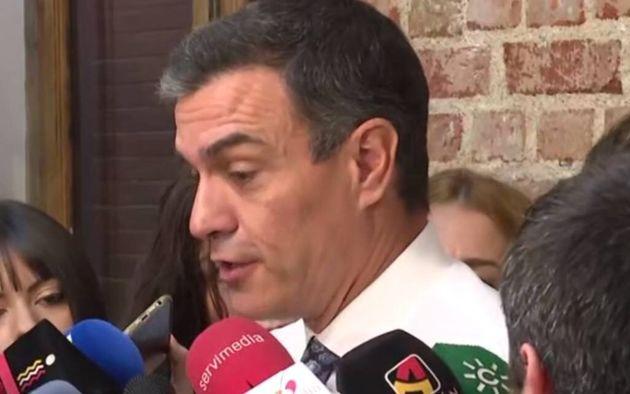 Sánchez niega que su ronda con agentes sociales pretenda