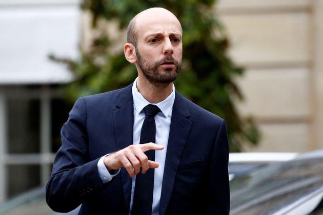 La permanence du patron de La République en Marche, Stanislas Guerini, a été taguée...