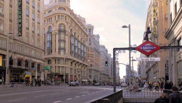 La imagen vista en el centro de Madrid por la que muchos se llevan las manos a la cabeza: