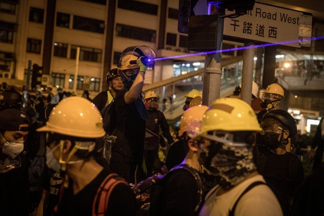 Why Lasers Have Become The Weapon Of Choice Among Hong Kong Protesters
