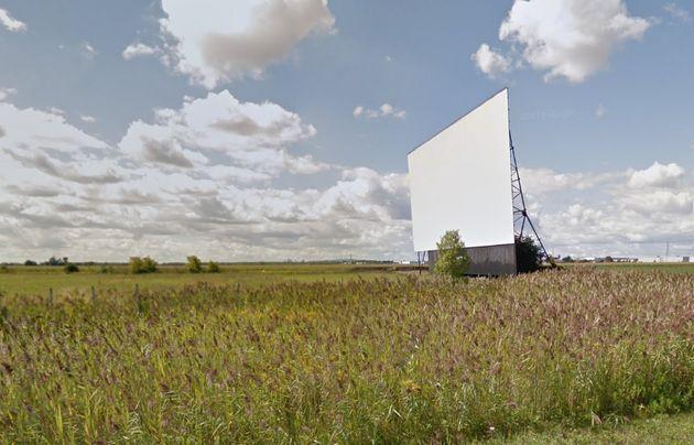 The Cine-parc Boucherville drive-in movie theatre in Boucherville,