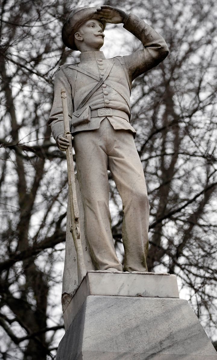 Many students and faculty at Ole Miss want this Confederate statue removed from the campus.
