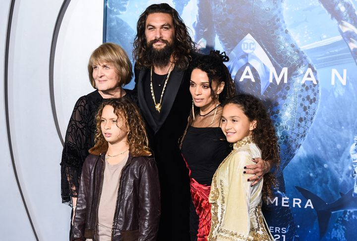Jason Momoa and Lisa Bonet welcomed Lola in 2007 and Nakoa-Wolf in 2008.