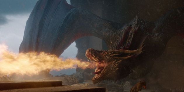 Game Of Thrones Script Finally Reveals Why Drogon Melted The Iron