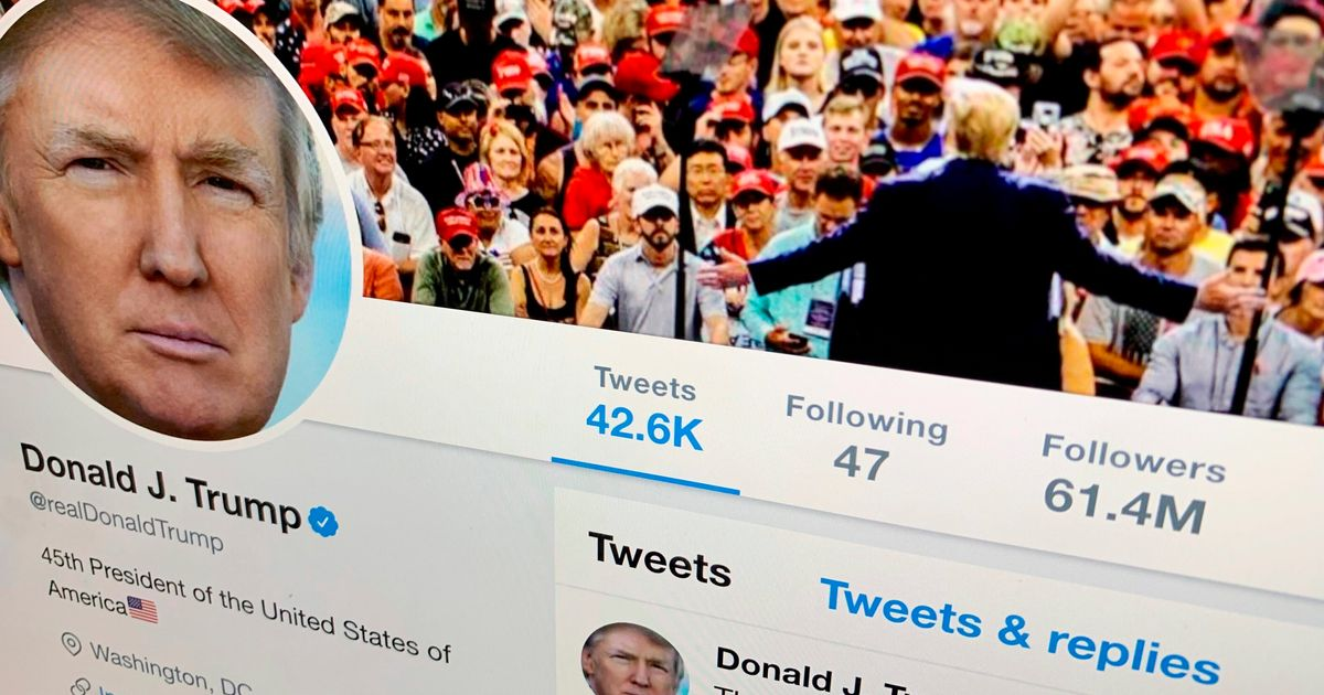 Trump Retweeted An Unhinged Conspiracy Account, And Twitter Suspended It