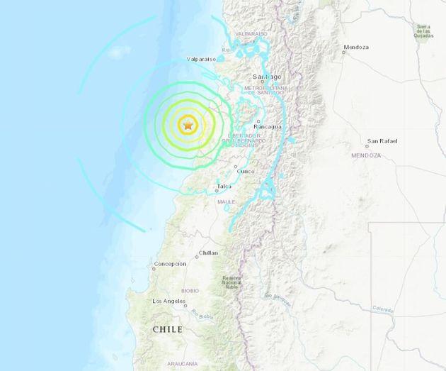 Ισχυρός σεισμός 6,8 βαθμών στη