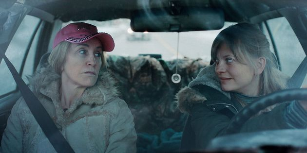 Felicity Huffman, left, in a scene from