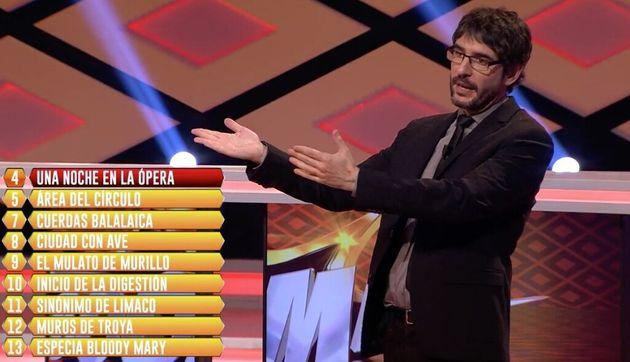El reproche nunca visto de Juanra Bonet en 'Boom' (Antena 3):