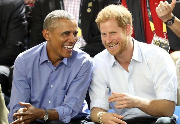 Obama and Prince Harry enjoy the Invictus Games in Toronto, Canada.