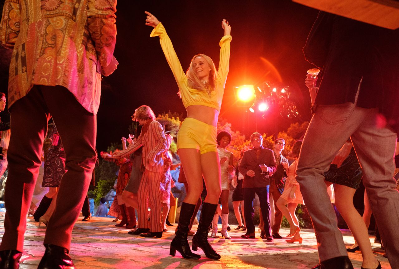 """Margot Robbie in """"Once Upon a Time in Hollywood."""""""