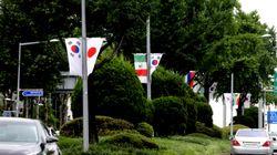 강남구가 '화이트리스트 제외 조치' 항의 표시로 시행한