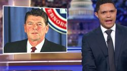 Trevor Noah Points Out 'Bright Side' Of Reagan's Racism For