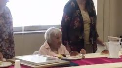 107歳を迎えた女性。長寿の秘訣は「結婚しないこと」