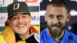 Maradona già adora De Rossi: