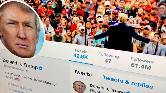 Trump retuitea una cuenta conspiranoica y Twitter la