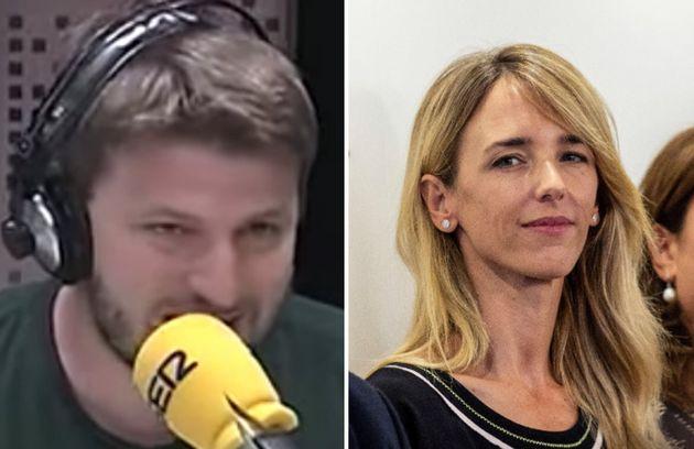 Aimar Bretos y Cayetana Álvarez de