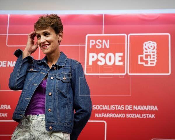 María Chivite se convertirá esta tarde en presidenta de