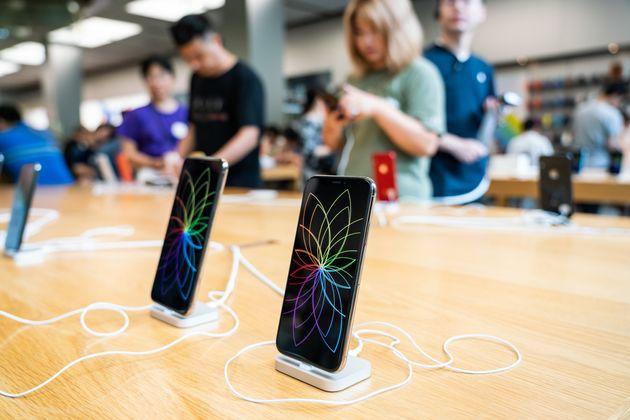Ventes de smartphones: Apple presque évincé du podium par