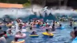 Un fallo técnico provoca una ola gigante en un parque acuático que causa 44
