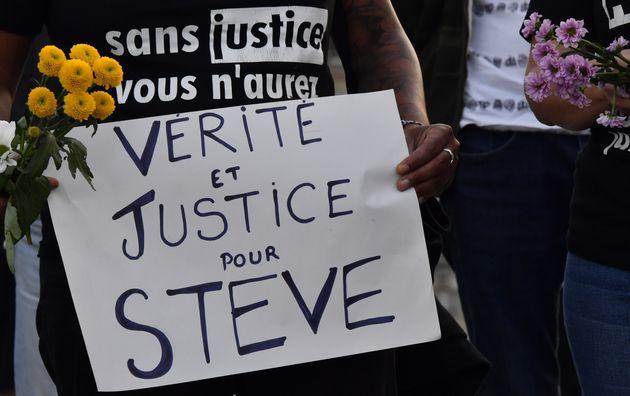 Les juges enquêtant sur la mort de Steve à Nantes ont demandé à être