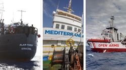 Tutte in mare. Sea Eye verso Malta, Open Arms chiede un porto, Mediterranea ritorna (di L.