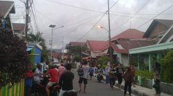 인도네시아에서 규모 6.9의 강진이 발생해 쓰나미 경보가