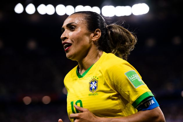 Em 2018, Martase tornou a maior artilheira da história das Copas, ultrapassando recorde...