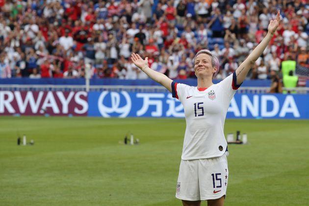 Além de Rapinoe (foto acima), o time dos Estados Unidos é representado também pelas...