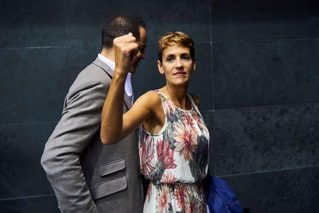 Chivite, elegida presidenta de Navarra con la abstención de EH