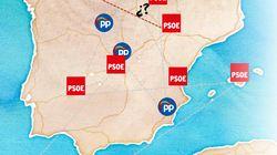 Así queda el mapa autonómico tras el festival de