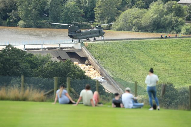 Derbyshire Dam At Critical Level - Everything We Know About The Race To Save Whaley Bridge