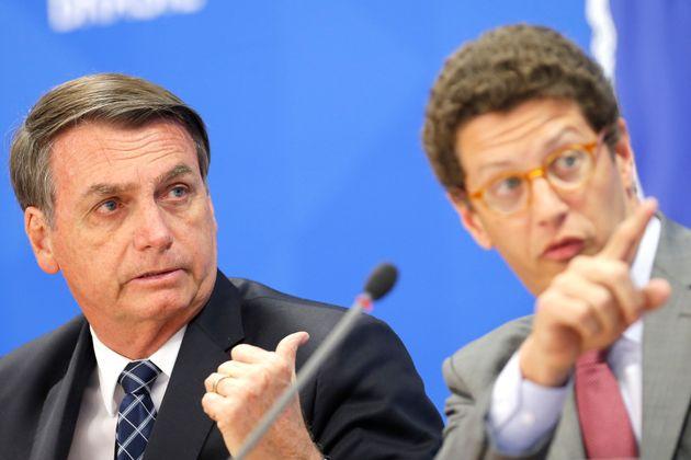 Tanto Bolsonaro quanto o ministro do Meio Ambiente, Ricardo Salles, contestam dados do